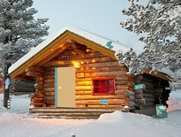Winter Cabin Christmas Celebration Escape