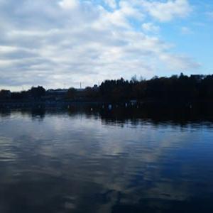 釣果上昇中!鳴沢湖釣行。↑シマノブログにUP!