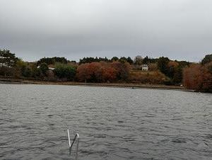 鳴沢湖今期初釣行。