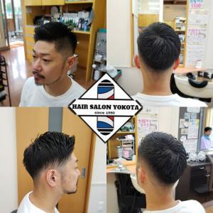 オシャレアシメ・フェードスタイル!!短髪好き必見✂