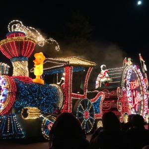 ディズニーランド   クリスマスの夜はコレ(*^_^*)