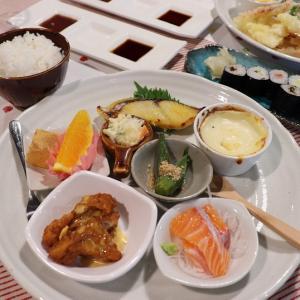 津山市城東むかし町「がり」で食べ放題ランチ