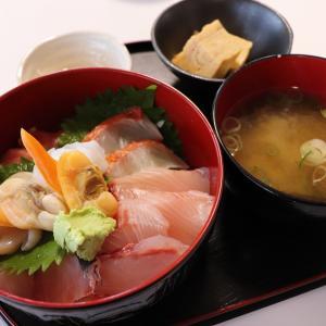 「保田鮮魚店」の海鮮丼ランチ津山市
