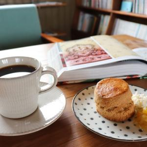 ギャラリー併設のカフェ「cafe calme」(奈義町)