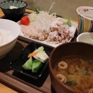 「わづき」で和食ランチ(津山市)