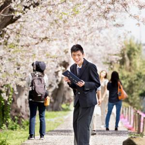 最後の制服~桜~