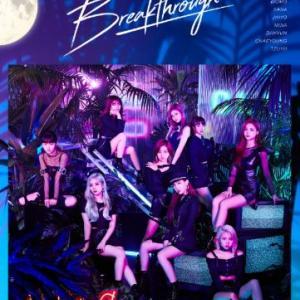 TWICE Breakthrough Korean version