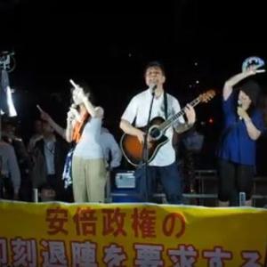 韓国の政権を倒した歌が反安倍政権運動で日本語に!