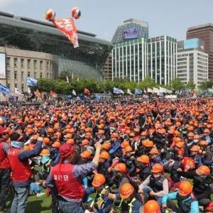 メーデー IN 韓国