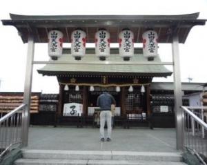山田天満宮内「金神社」&「別小江神社」に