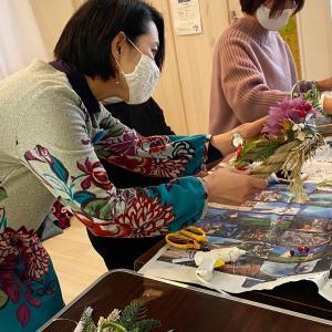 ママ達のしめ縄レッスン3日目 最終日