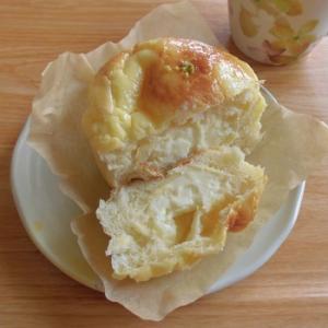 夏にピッタリ!瀬戸内レモンのレアチーズパン♪~サンジェルマン