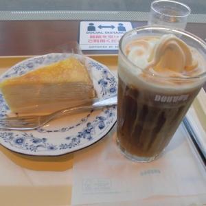 アイスコーヒーフロート♪~ドトール