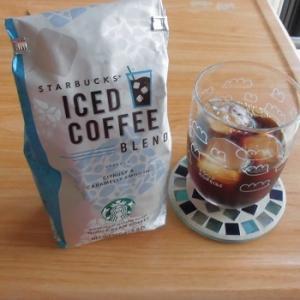 自宅で豆からアイスコーヒー♪~スターバックス