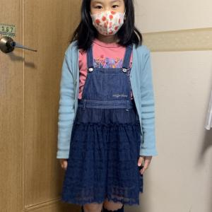 毎朝来ている2年生。。。今日のスカート、メチャ可愛いの♥️