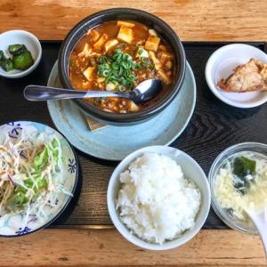 趙記で麻婆豆腐定食