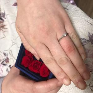 マリッジブルーだった男性会員様がプロポーズいたしました!
