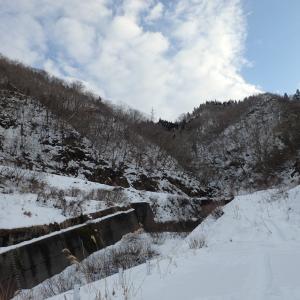 2020.1.18護摩堂山(谷峠~山頂)