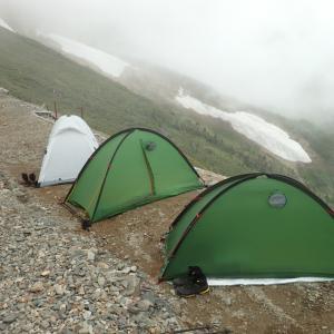 2019年度夏山に向けて1発目のテント泊遠征 五竜 後篇