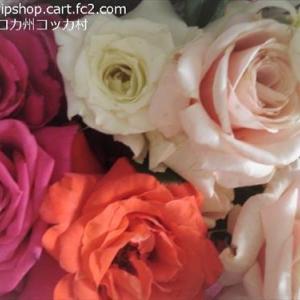 薔薇の季節 お庭のおすそわけをいただきました