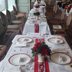 帝国ホテル クリスマスパーティー2019 その1