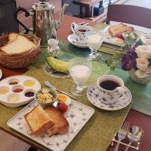 ホテルのような朝ご飯とブランチ♪
