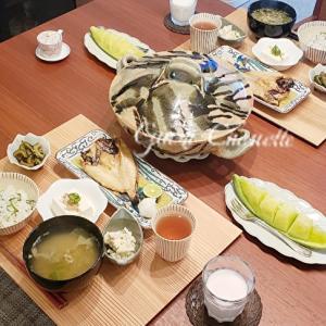 昨日の朝御飯と京都のお取り寄せ♪