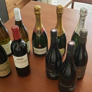 今月のワイン&シャンパン♪