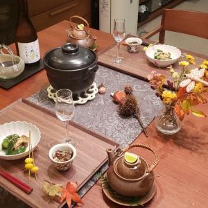 秋の味覚で晩御飯♪