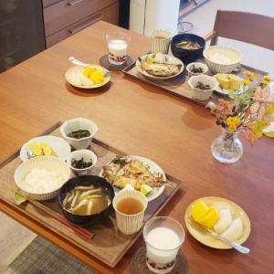 昨日の朝御飯♪