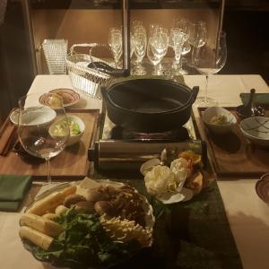 あったかお鍋で晩御飯 その2♪