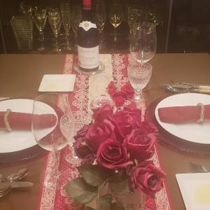 土曜日のテーブルコーディネートとお料理♪