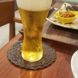 お気に入りのビールグラス♪