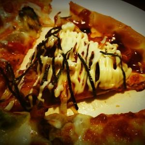 Pizza in さんでランチ♪