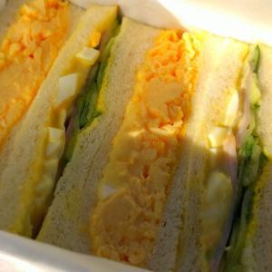 阪急・サンドウィッチの旅4 ルマンのサンドウィッチ