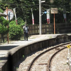 徳島旅行4 秘境・スイッチバック駅