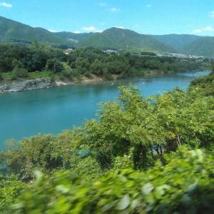 徳島旅行7 よしの川ブルーライン