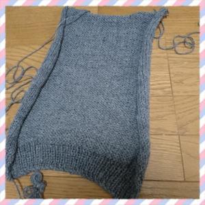 編んだり、縫ったり。