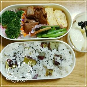 11月23日*お弁当と★ガンジー模様風マフラー★