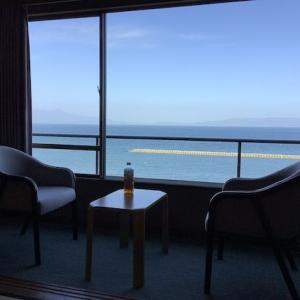 海の見える部屋に泊まった