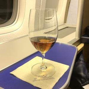 032 フランクフルト行きFクラス食前酒〜2019ヘルシンキ+α