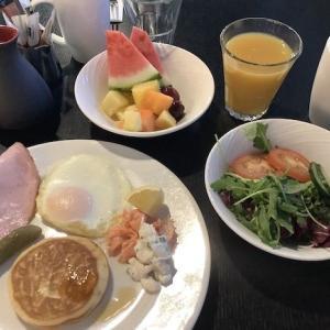 060 1日目の朝食(ヒルトン・ヘルシンキ・ストランド)〜2019ヘルシンキ+α