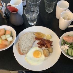 063 4日目の朝食(ヒルトン・ヘルシンキ・ストランド)〜2019ヘルシンキ+α