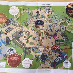 113 ヘルシンキ・リンナンマキ遊園地のガイドマップ(その2)〜ヘルシンキ〜2019ヘルシンキ+α