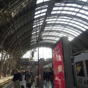 157 フランクフルト中央駅に到着〜2019ヘルシンキ+α