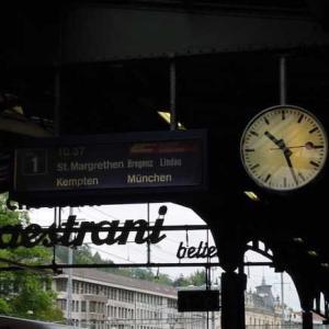 フュッセンから列車でミュンヘンへ〜初めての海外ひとり旅2001(6日目 中半)
