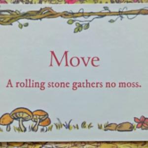 【 Move~Seacret garden メッセージ】