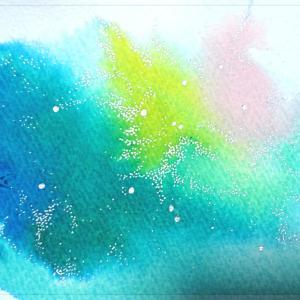 """""""11月15日は【色の瞑想~にじみ絵ワークショップ】"""""""