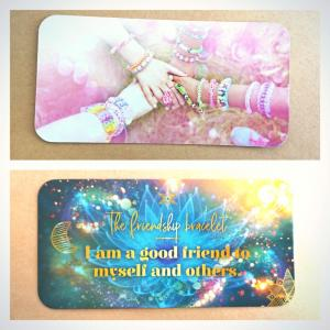 友情のブレスレット~今日のWishcraftカード