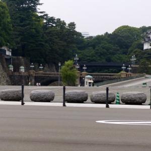 皇居 二重橋 遠望